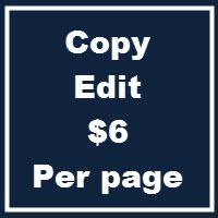 Basic Copy Edit
